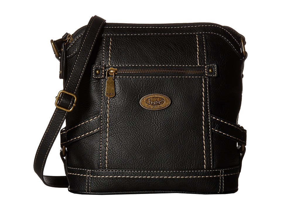 b.o.c. - Middleton Crossbody (Black) Cross Body Handbags