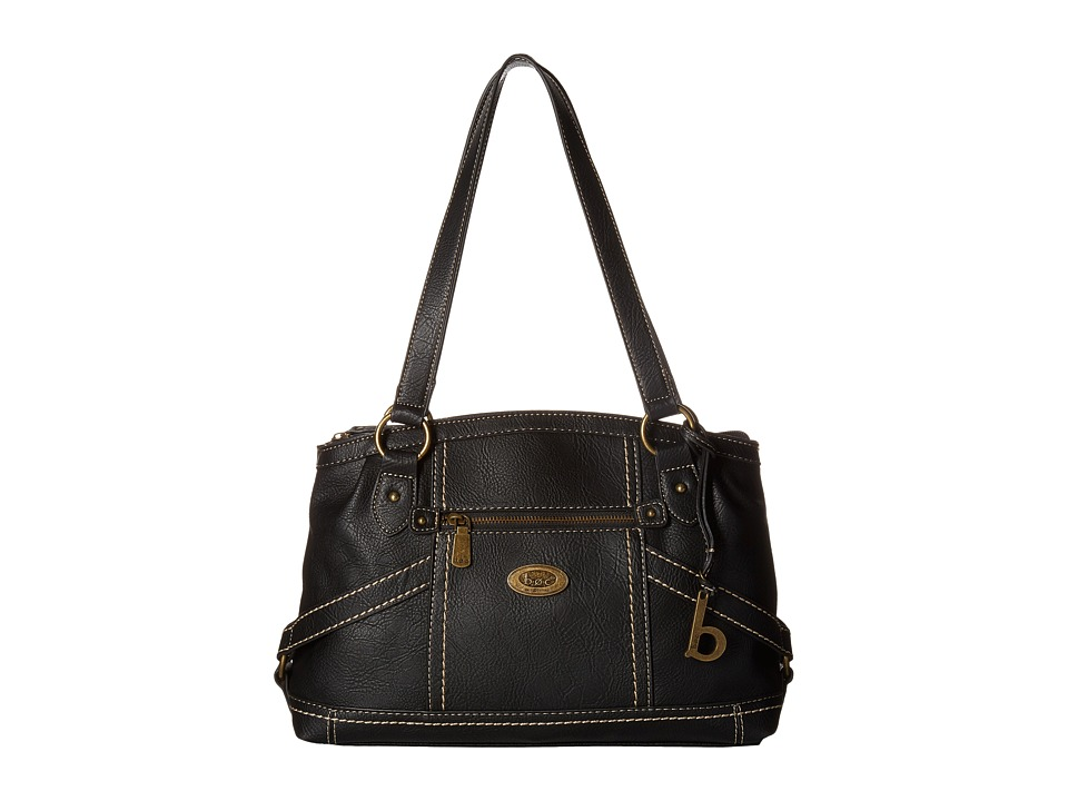 b.o.c. - Middleton Satchel (Black) Satchel Handbags