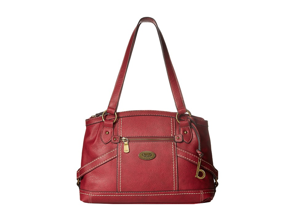 b.o.c. - Middleton Satchel (Burgundy) Satchel Handbags