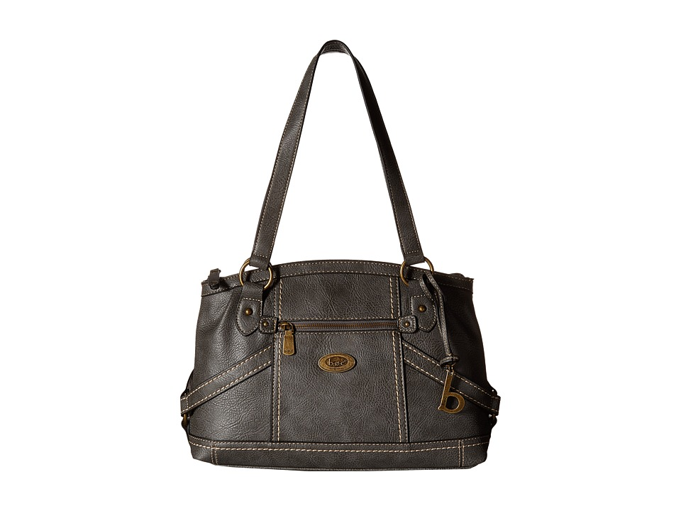 b.o.c. - Middleton Satchel (Charcoal) Satchel Handbags