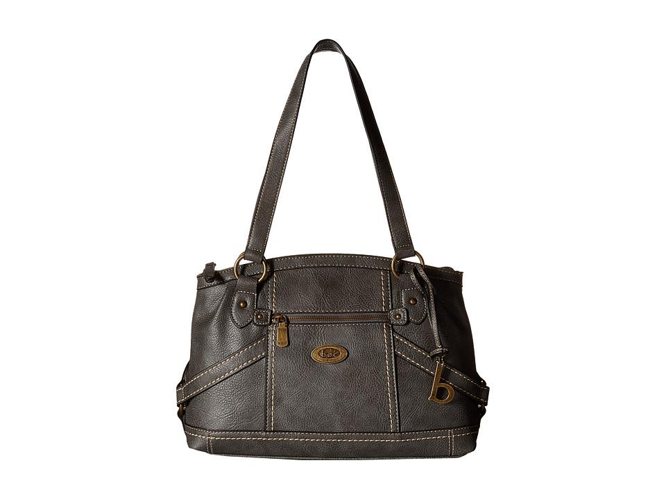 b.o.c. - Middleton Satchel (Charcoal) Satchel Handbags