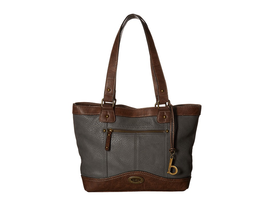 b.o.c. - Potomac Tote with Power Bank (Charcoal/Chocolate) Tote Handbags