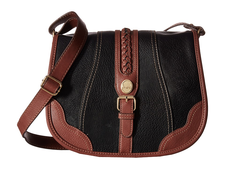 b.o.c. - Eltingville Saddle Bag (Black) Handbags