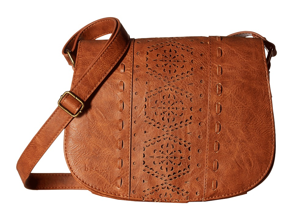 b.o.c. - Alexandra Saddle Bag (Saddle) Handbags
