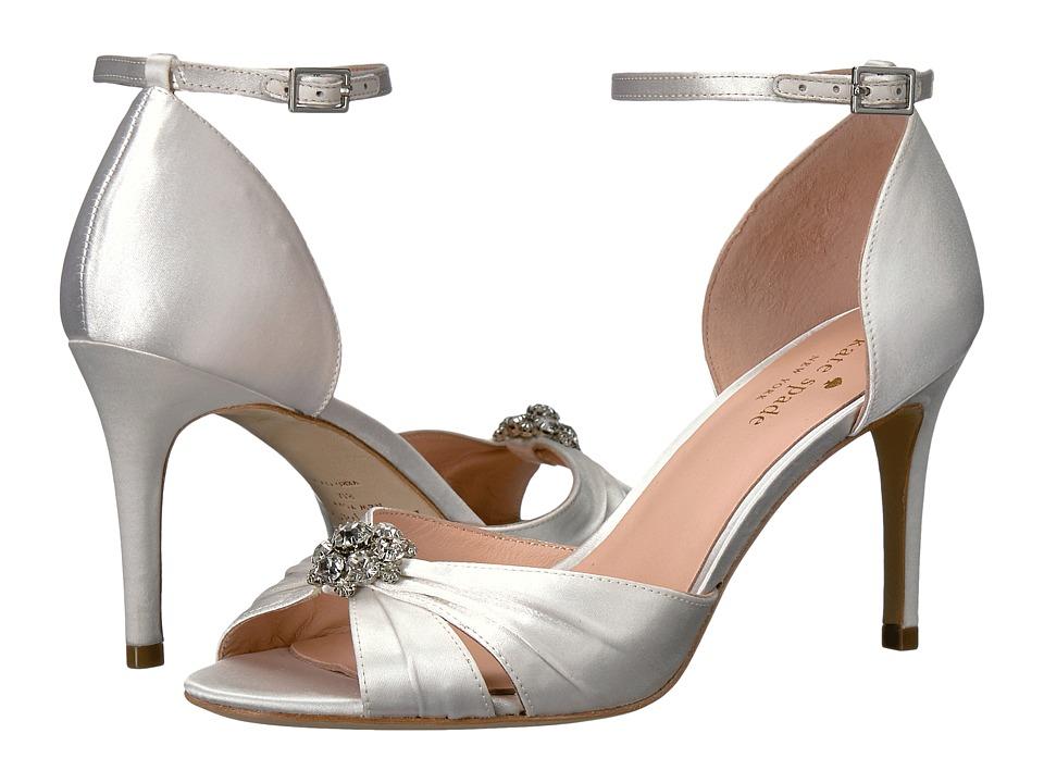 Kate Spade New York - Medina (Ivory Satin) Women's Shoes