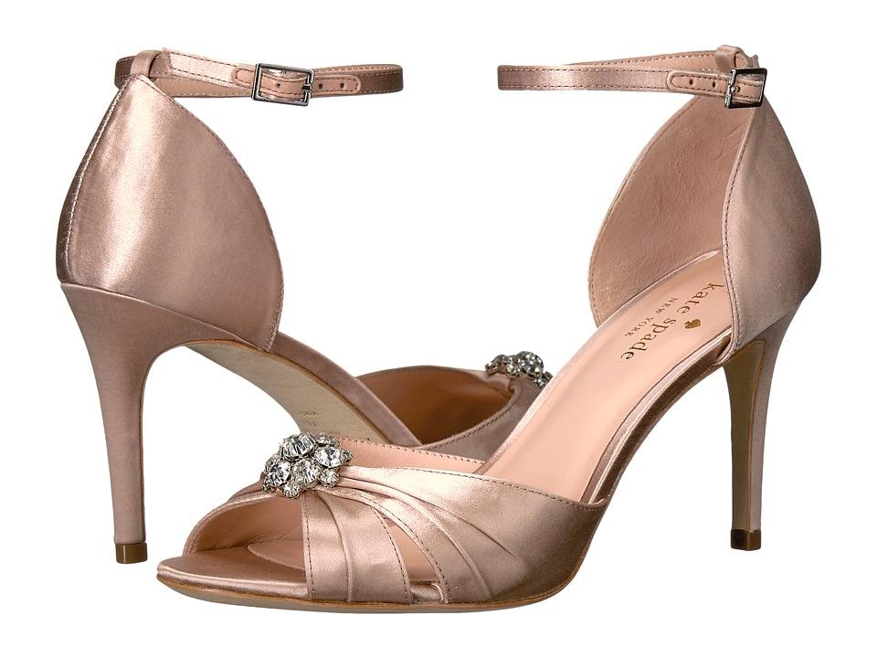 Kate Spade New York - Medina (Pink Champagne Satin) Women's Shoes