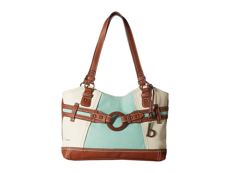 b.o.c. - Nayarit Tote (Bone/Mint/Walnut) Tote Handbags