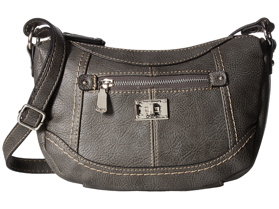 b.o.c. - Oberlin Jelly Bean Crossbody (Charcoal) Cross Body Handbags
