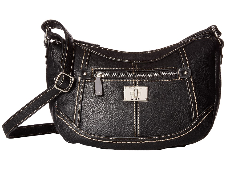 b.o.c. - Oberlin Jelly Bean Crossbody (Black) Cross Body Handbags
