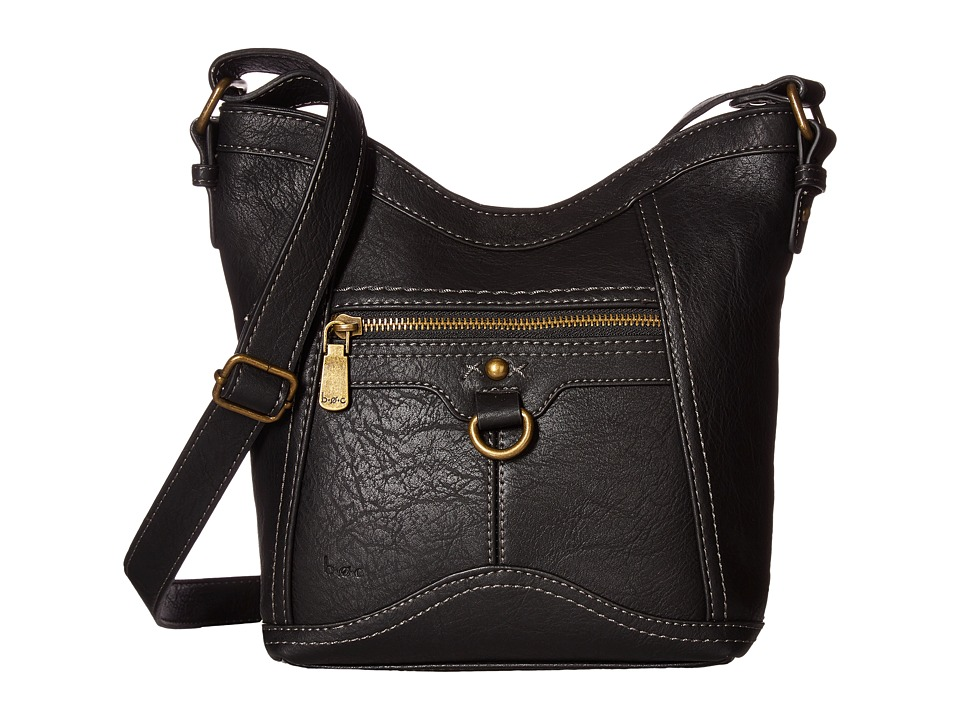 b.o.c. - Mansfield Tulip Crossbody (Black) Cross Body Handbags
