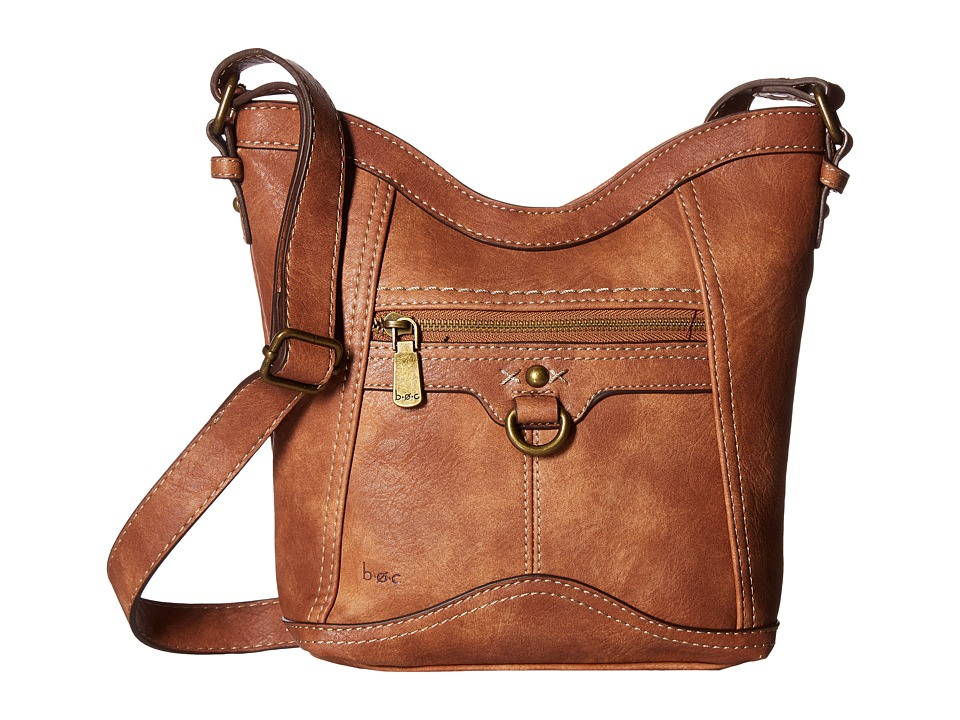 b.o.c. - Mansfield Tulip Crossbody (Saddle) Cross Body Handbags