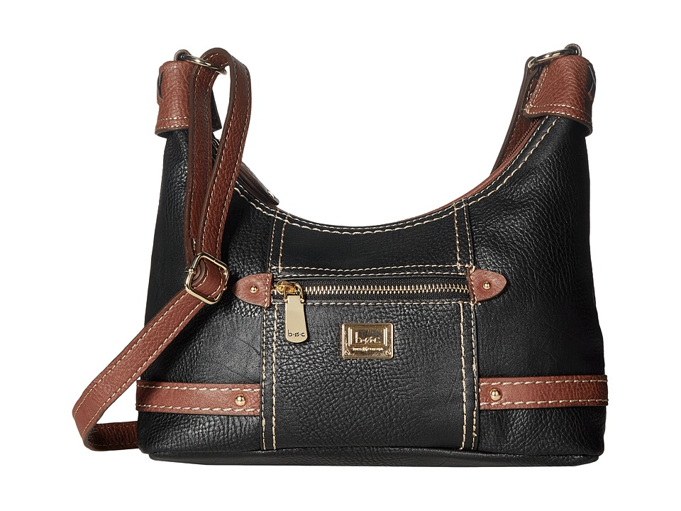 b.o.c. - Beachwood Hobo (Black/Walnut) Hobo Handbags