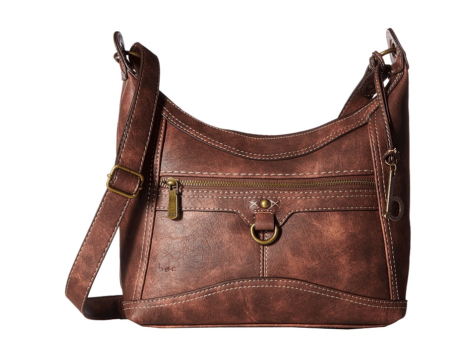 b.o.c. - Mansfield Hobo (Chocolate) Hobo Handbags