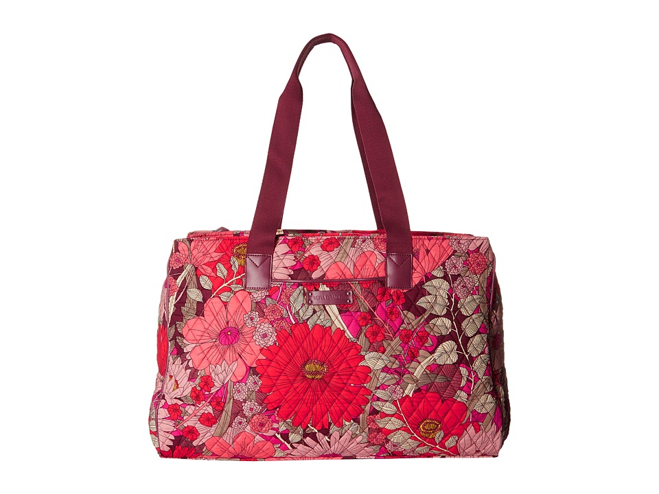 Vera Bradley Luggage - Triple Compartment Travel Bag (Bohemian Blooms) Bags