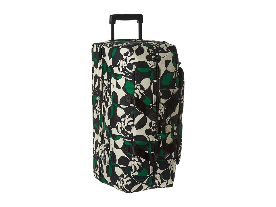 Vera Bradley Luggage - Lighten Up Large Wheeled Duffel (Imperial Rose) Duffel Bags