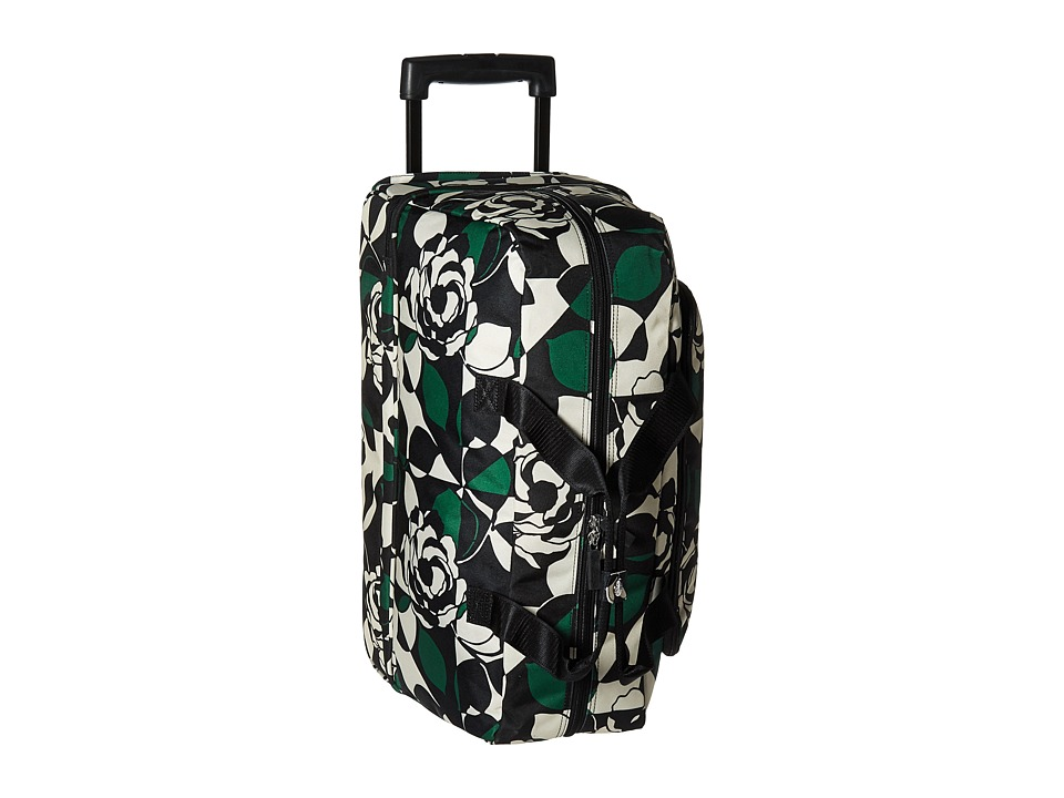 Vera Bradley Luggage - Lighten Up Wheeled Carry On (Imperial Rose) Carry on Luggage