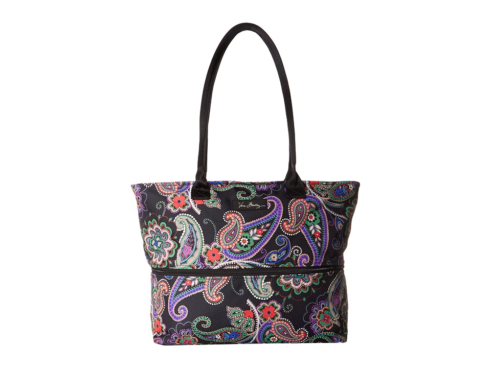 Vera Bradley Luggage - Lighten Up Expandable Travel Tote (Kiev Paisley) Tote Handbags