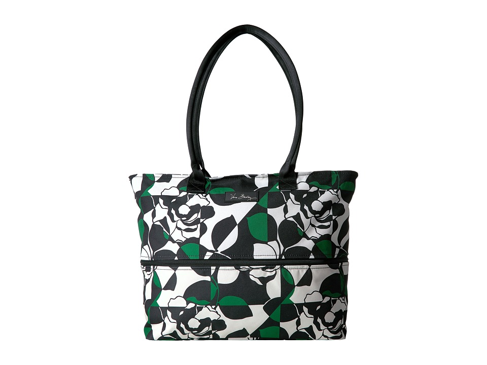 Vera Bradley Luggage - Lighten Up Expandable Travel Tote (Imperial Rose) Tote Handbags