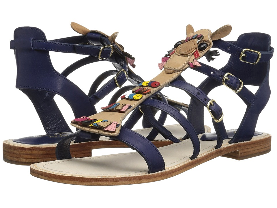 Kate Spade New York - Sahara (New Navy Vacchetta) Women's Shoes