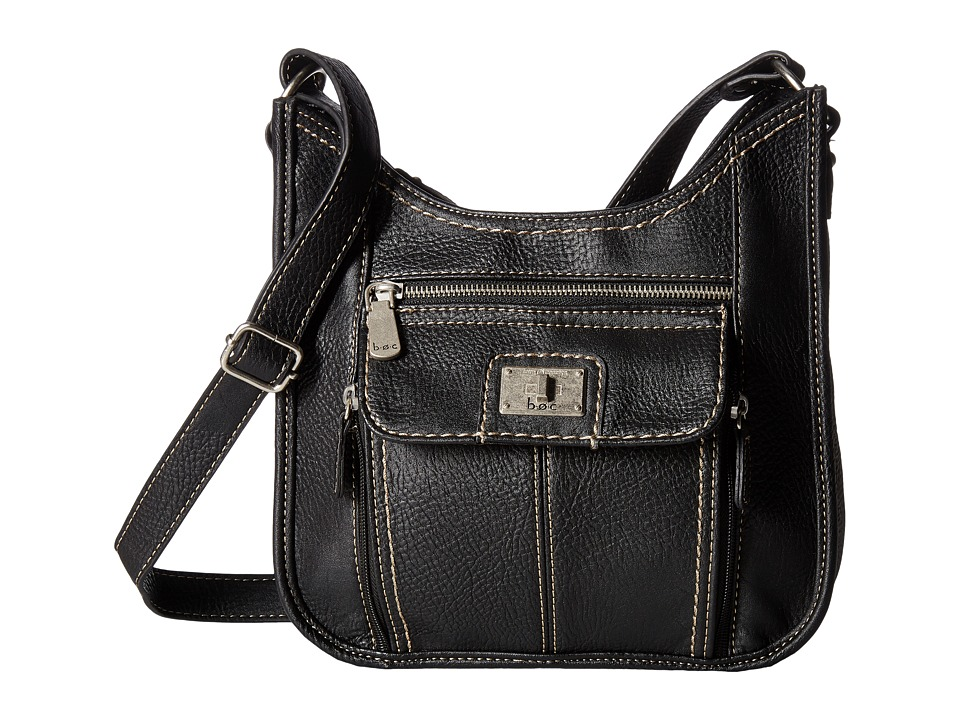 b.o.c. - Hamilton North/South Super Organizer (Black) Handbags