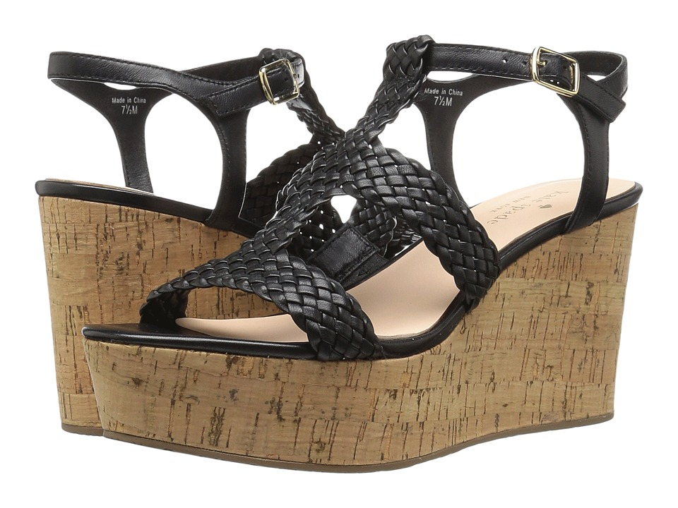 Kate Spade New York - Tianna (Black Woven Nappa) Women's Shoes