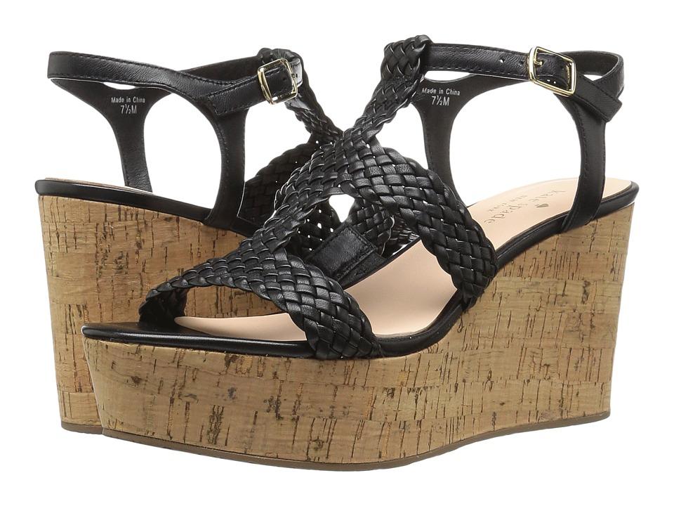 Kate Spade New York - Tianna (Black Woven Nappa) Women's Shoes