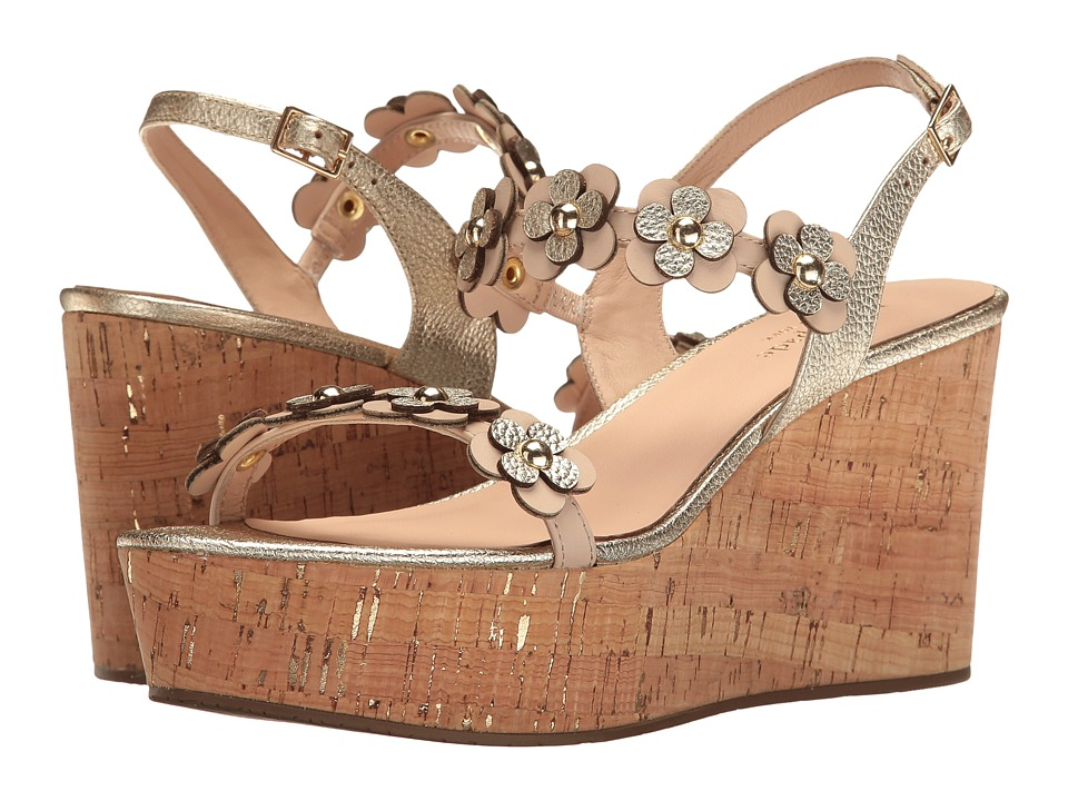 Kate Spade New York Tisdale (Natural/Old Gold Vacchetta) Women