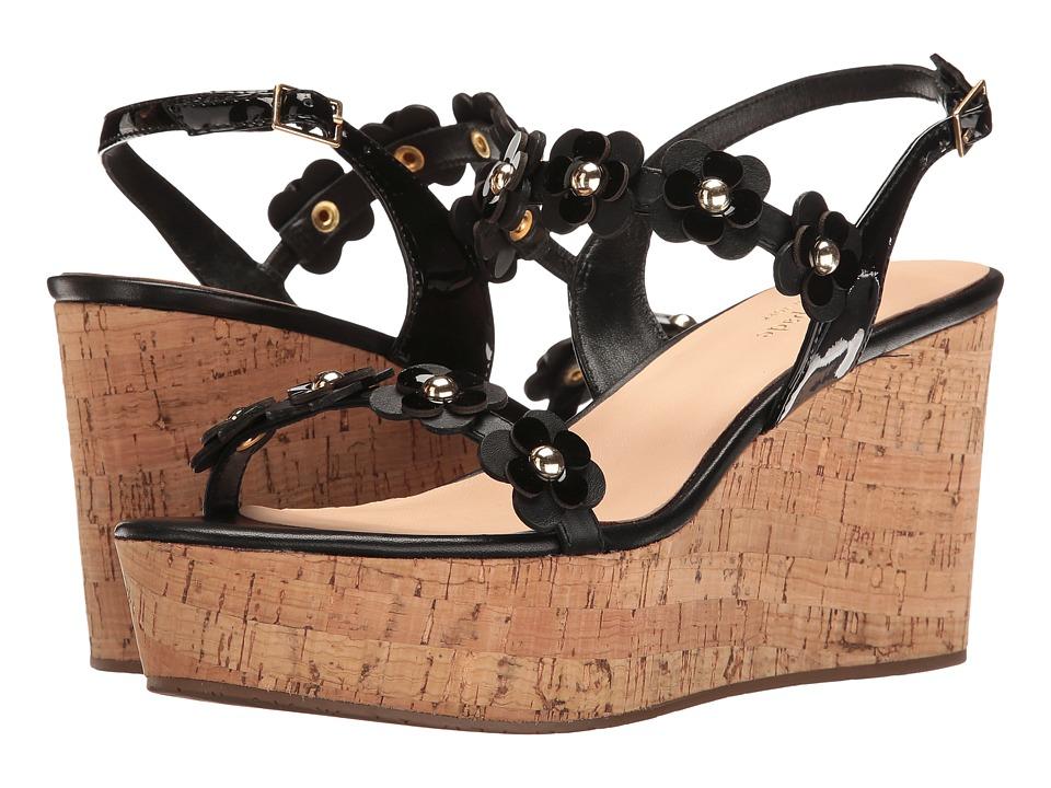 Kate Spade New York - Tisdale (Black Vacchetta/Patent) Women's Shoes