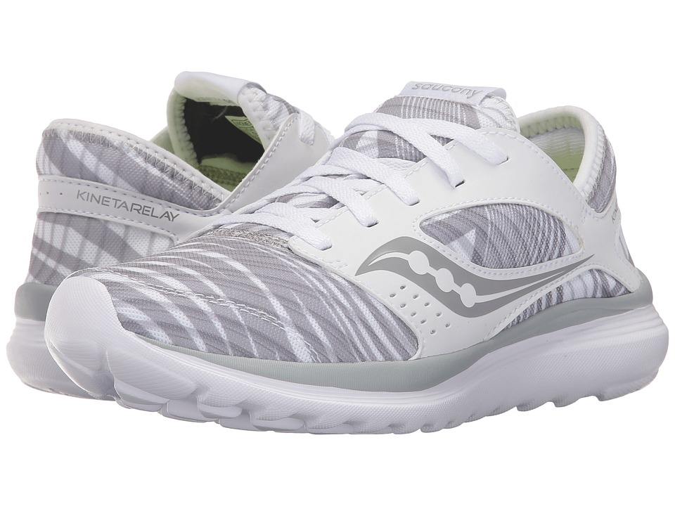 Saucony Kineta Relay (White/Grey/Print) Women