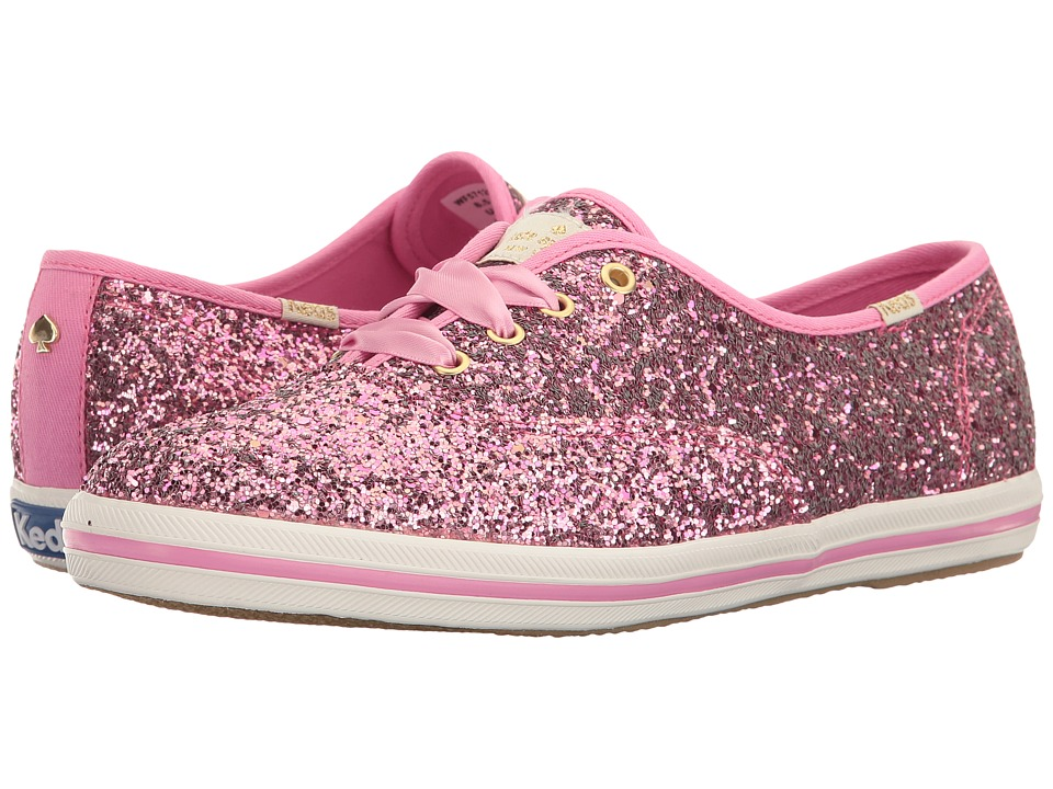 Kate Spade New York - Glitter (Rose Bloom Glitter) Women's Lace up casual Shoes