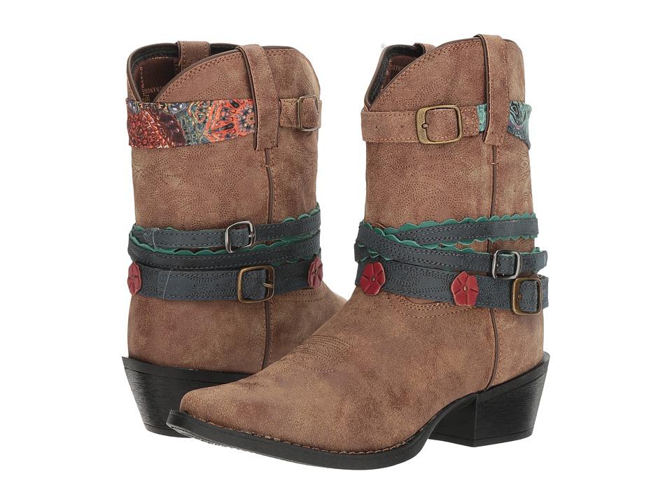 Durango Kids - Lil' Durango 8 Accessory Boot (Big Kid) (Brown) Cowboy Boots