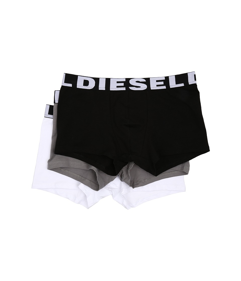 Diesel - Shawn 3-Pack Boxer Shorts AAMT (Black/Grey) Men's Underwear