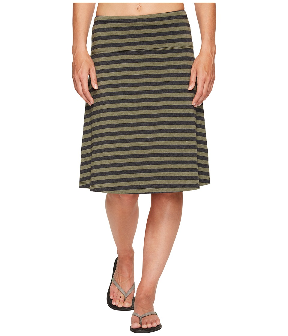 Lole - Lunner Skirt (Lichen Stripe) Women's Skirt