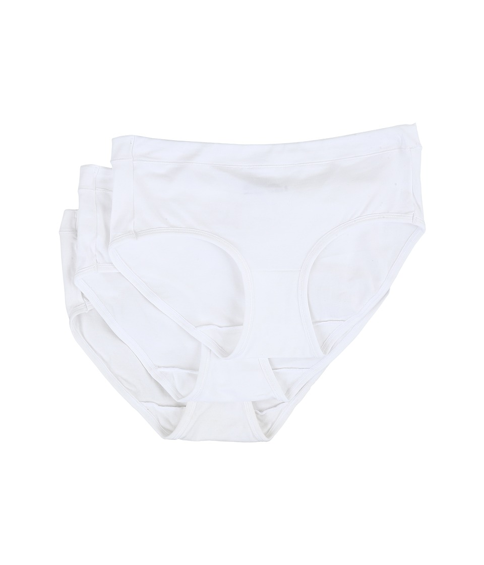 Jockey - Elance Stretch Hipster (White) Women's Underwear