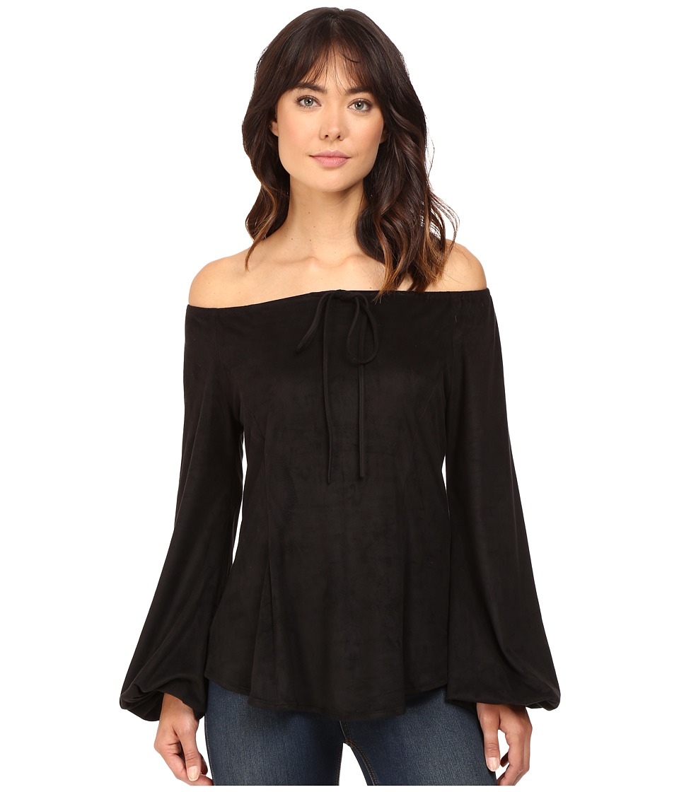 Union of Angels - Brandy Top (Black) Women's Clothing
