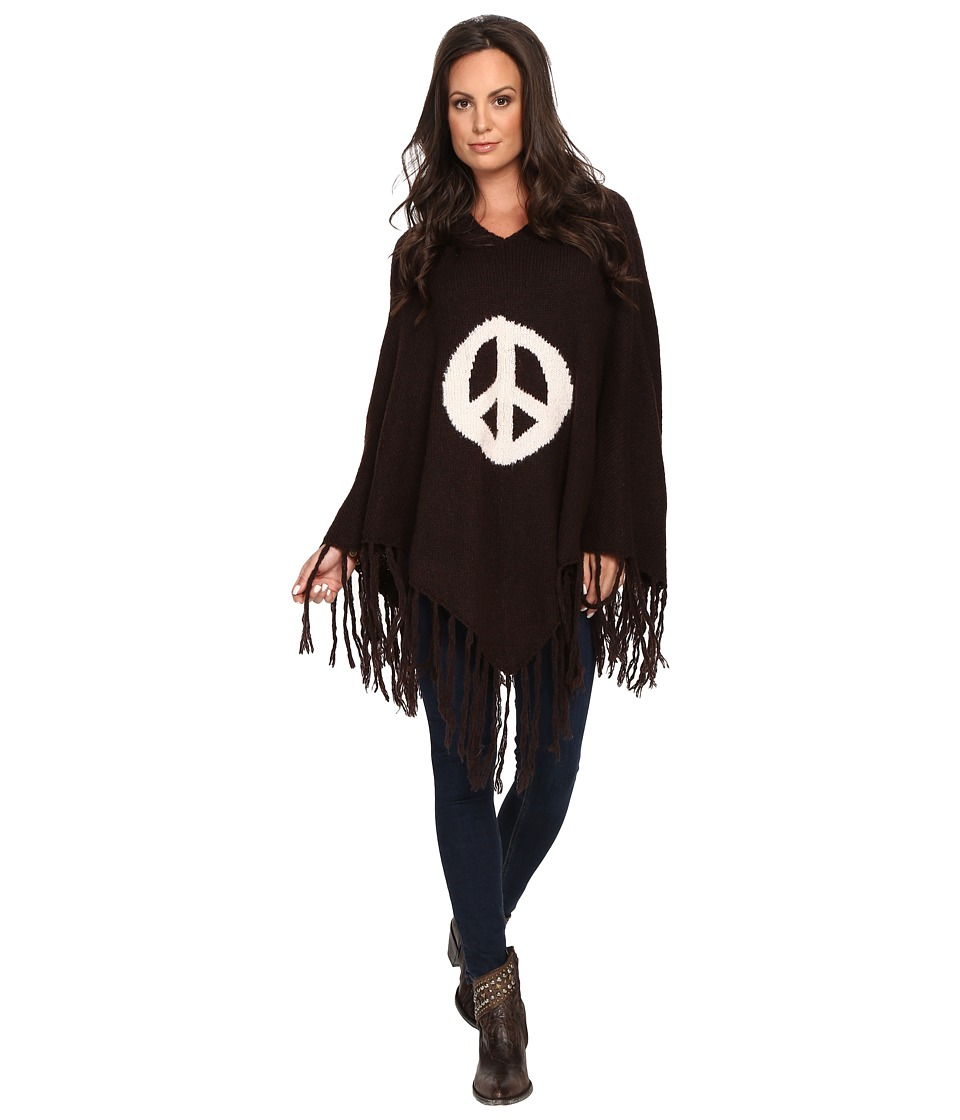 Union of Angels - Canada Poncho (Chocolate) Women's Coat