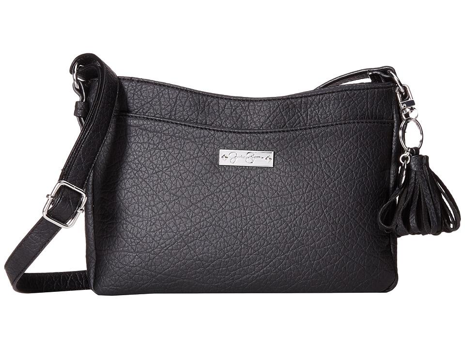 Jessica Simpson - Brynn Crossbody (Black) Cross Body Handbags