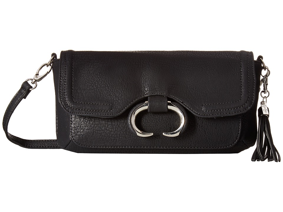 Jessica Simpson - Estelle Crossbody Clutch (Black) Clutch Handbags