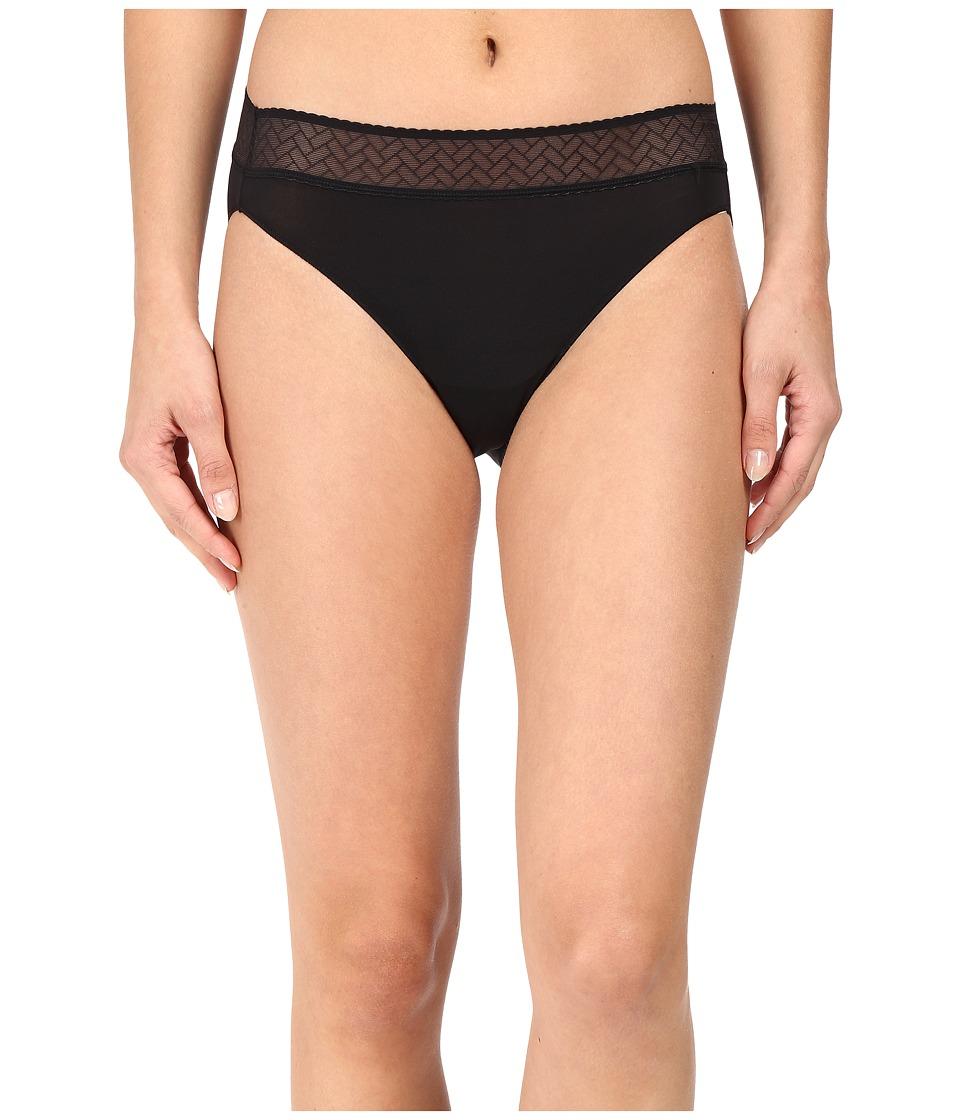 Jockey - Line Free Look Lace Bikini (Black) Women's Underwear