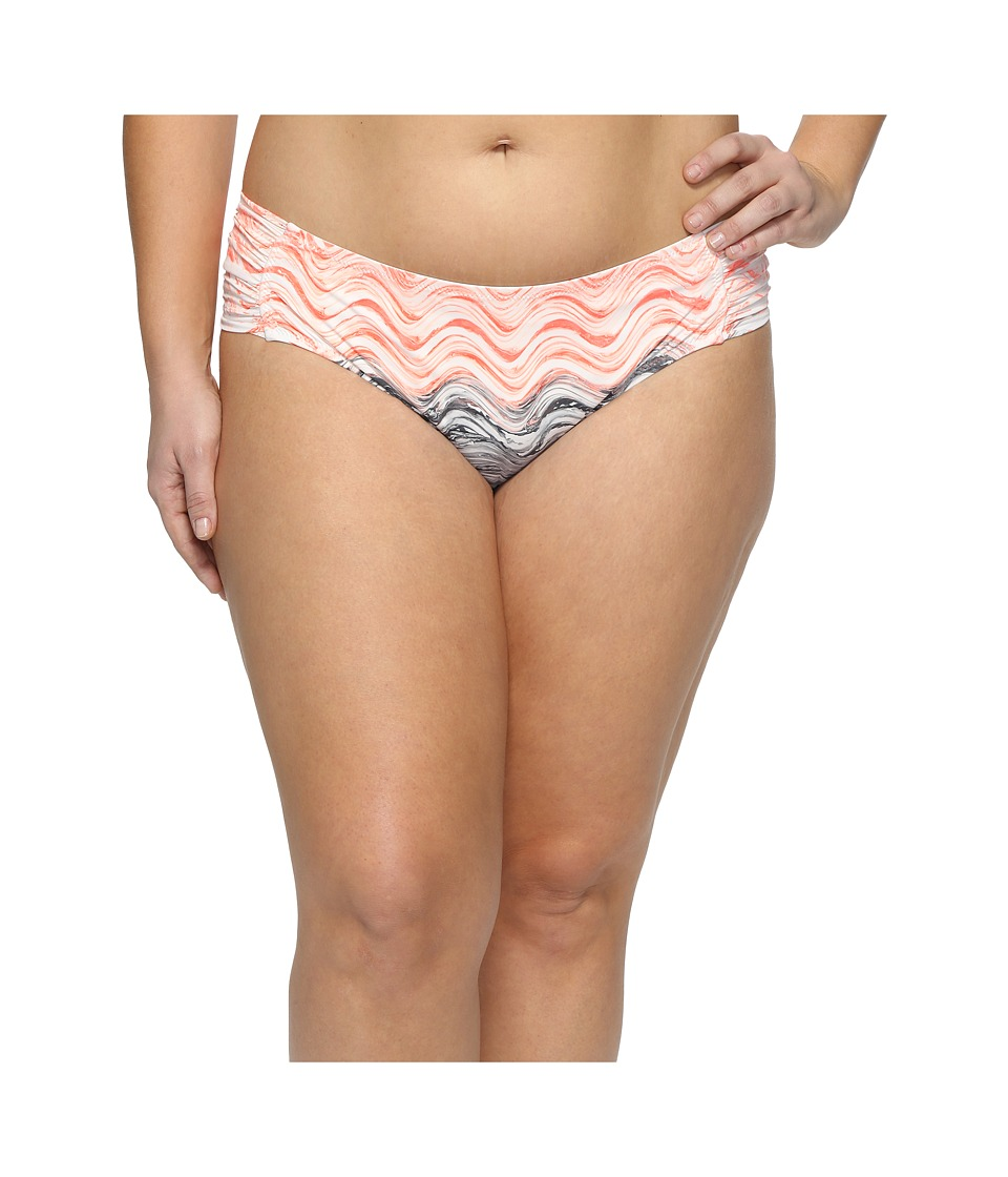 BECCA by Rebecca Virtue Plus Size Cosmic Hipster Bottoms (Persimmon) Women