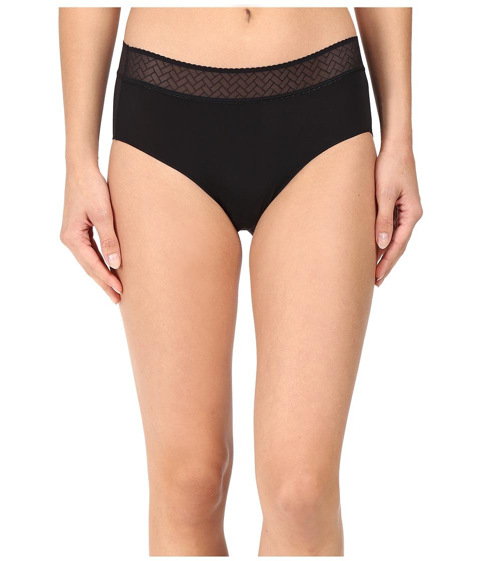 Jockey - Line Free Look Lace Hipster (Black) Women's Underwear