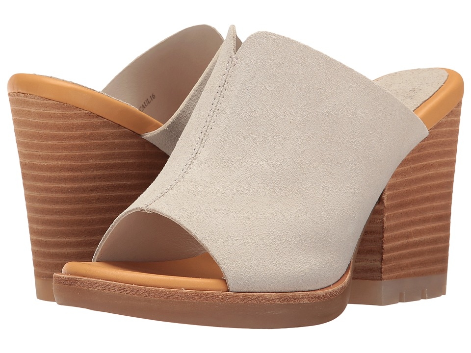 Kork-Ease - Lawton (Light Grey Suede) Women's Wedge Shoes