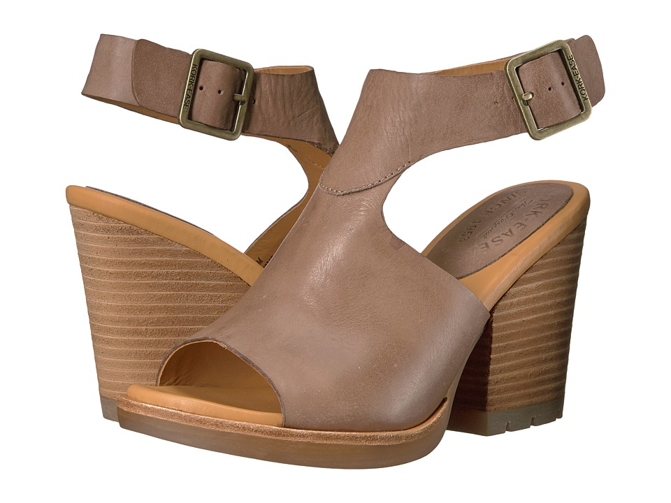 Kork-Ease - Linden (Taupe Full Grain) Women's Wedge Shoes