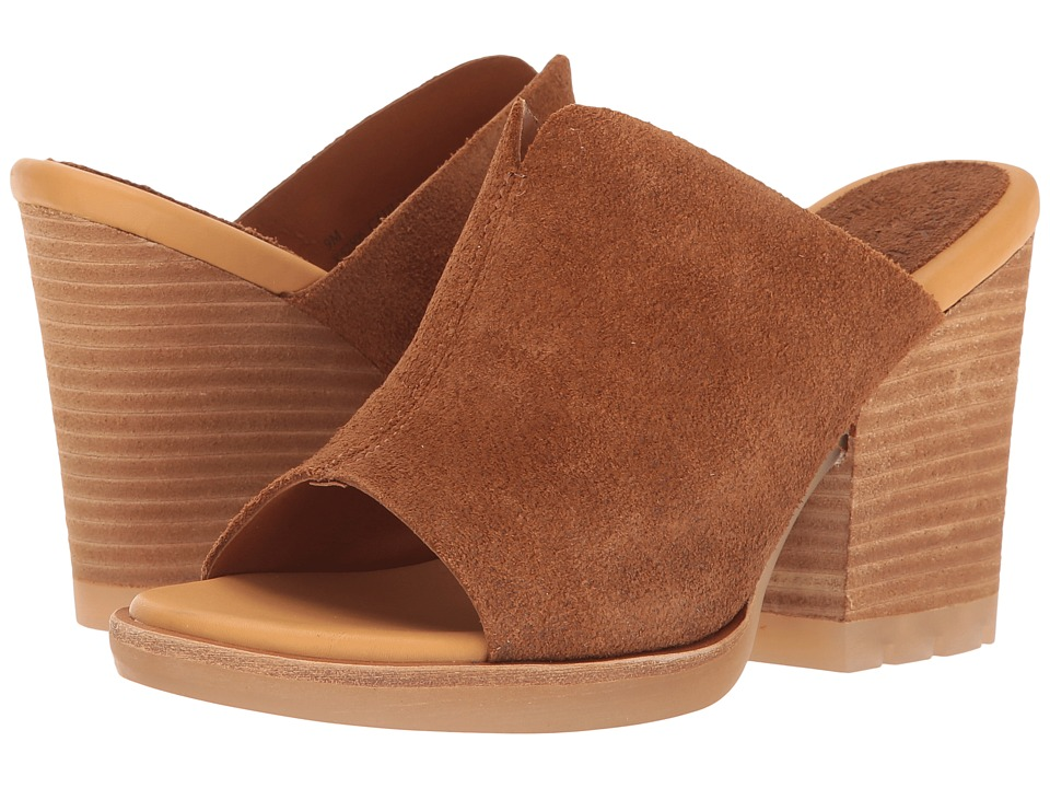Kork-Ease - Lawton (Brown Suede) Women's Wedge Shoes