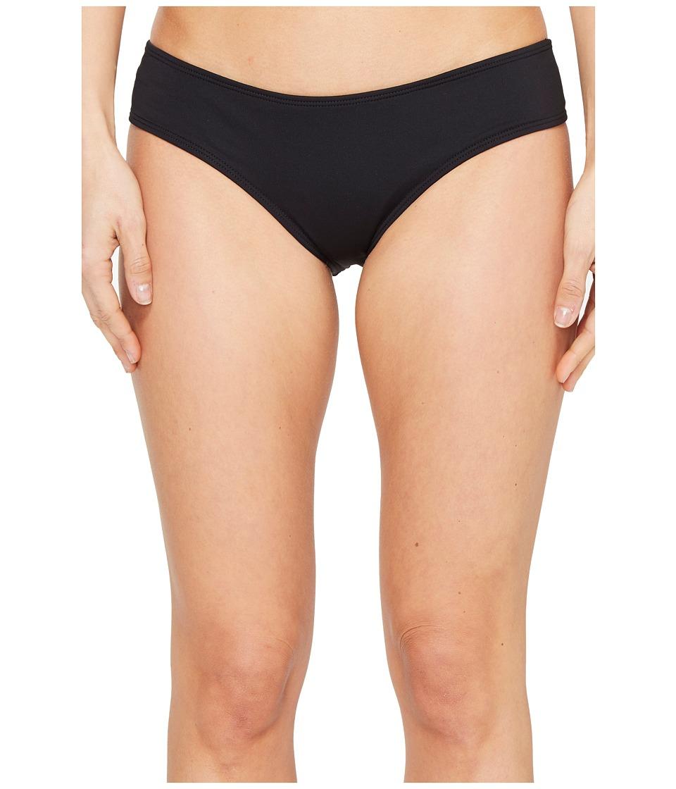 O'Neill - Salt Water Solids Hipster Bottoms (Black) Women's Swimwear