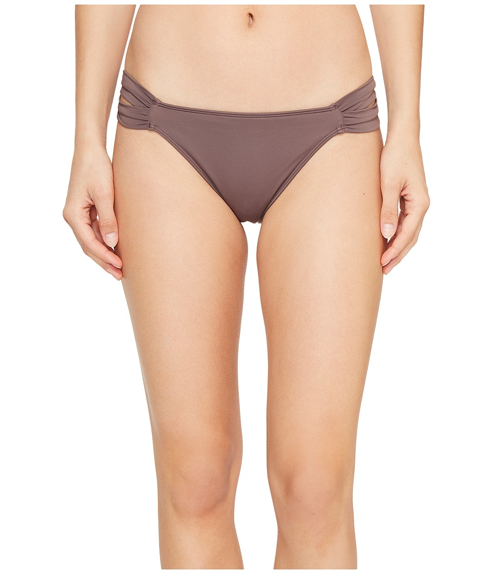 O'Neill - Salt Water Solids Tab Side Bottoms (Pepper) Women's Swimwear
