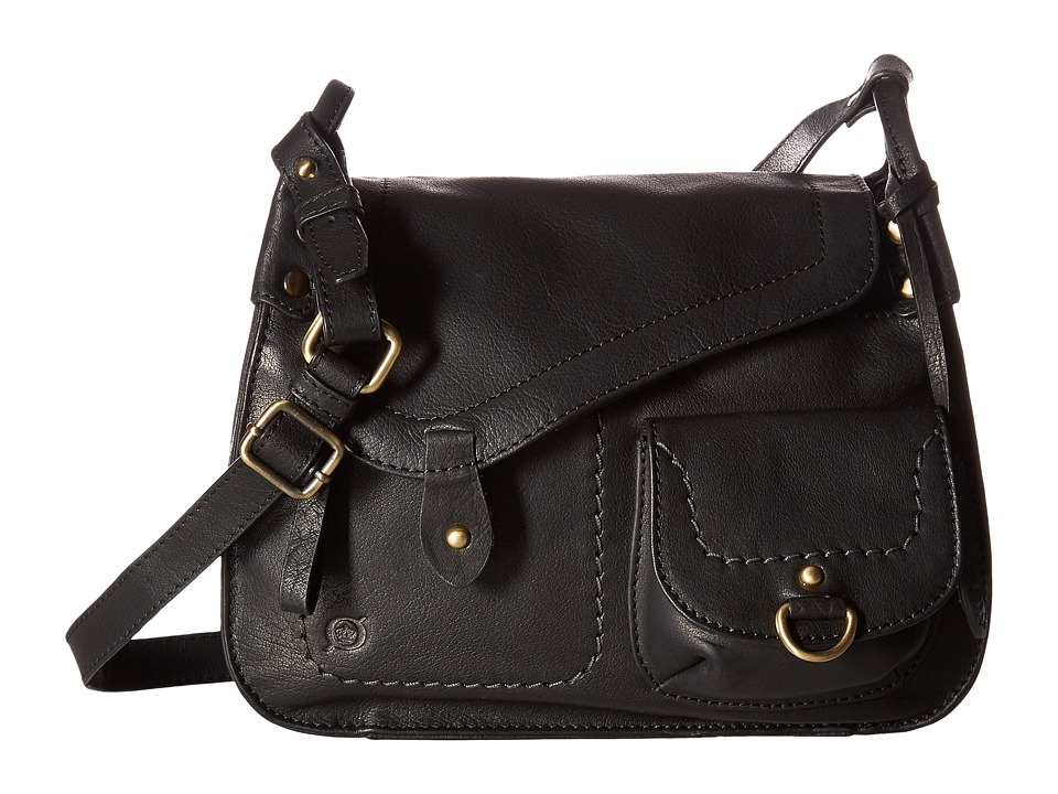Born - Ventura Ii Asymmetrical Crossbody (Black) Cross Body Handbags