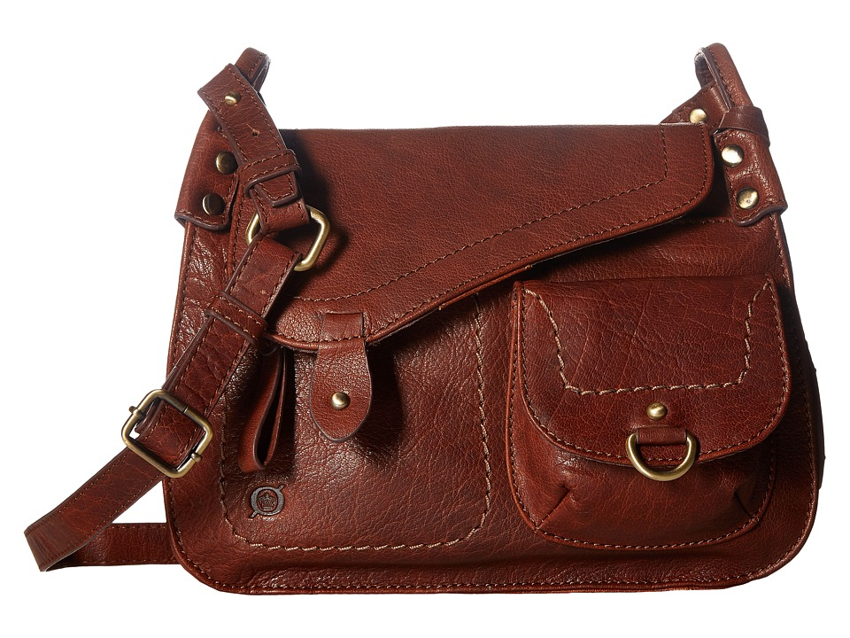 Born - Ventura Ii Asymmetrical Crossbody (Chestnut) Cross Body Handbags