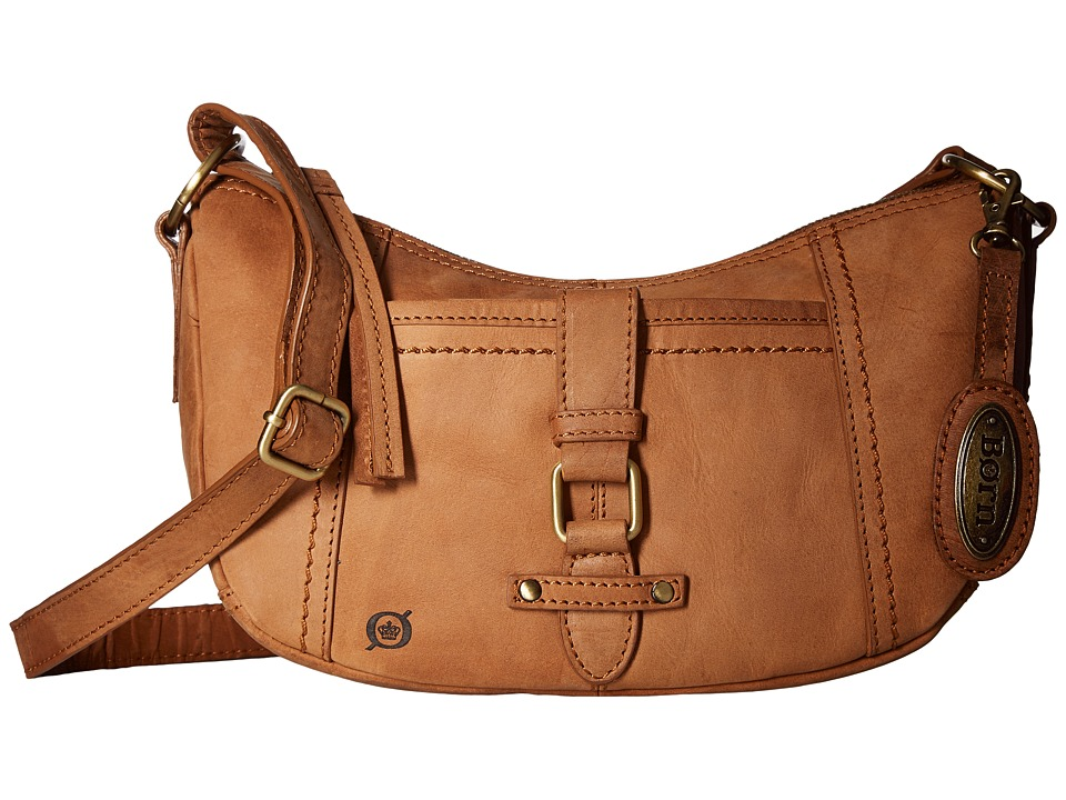 Born - Zephyr Bean Crossbody (Saddle) Cross Body Handbags