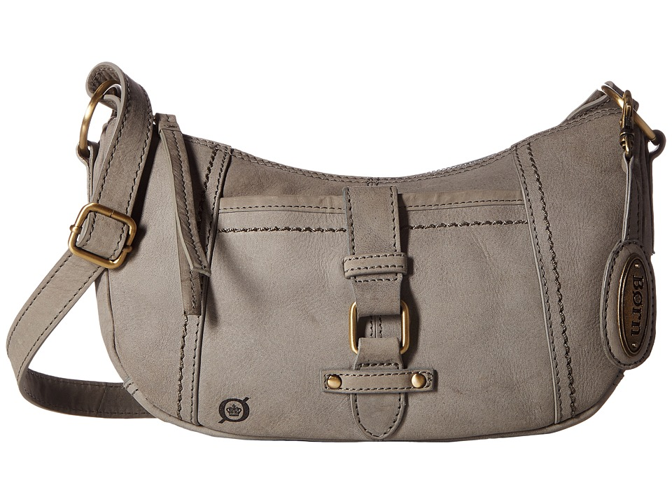 Born - Zephyr Bean Crossbody (Charcoal) Cross Body Handbags